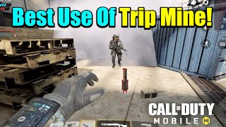 Top 5 Tips To Use Trip Mine In Call Of Duty Mobile - Hindi