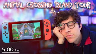 Animal Crossing Island Tour At 5AM