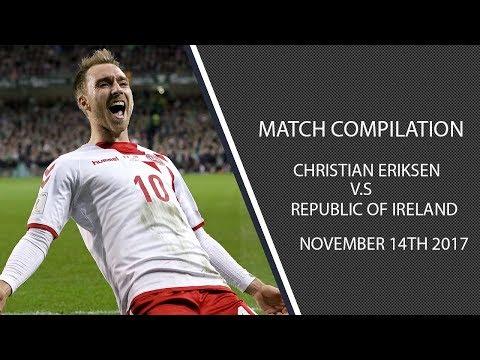 Christian Eriksen vs Ireland christian eriksen