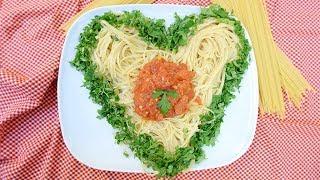 Pratik Domates Soslu Makarna Tarifi - SemenOner yemek tarifleri (makarna tarifleri)