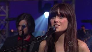 She Him In The Sun On David Letterman Hd