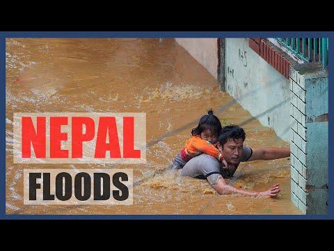 Extreme Floods, Landslides In Nepal Compilations | Flood In Kathmandu |