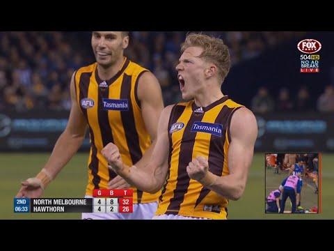 AFL 2016: Round 13 - Hawthorn highlights vs. North Melbourne