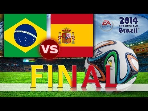 [TTB] 2014 FIFA World Cup Brazil - Brazil Vs Spain - WORLD CUP FINAL - Ep7