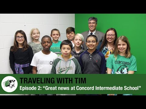 "Traveling with Tim | Episode 2: ""Great News at Concord Intermediate School"""