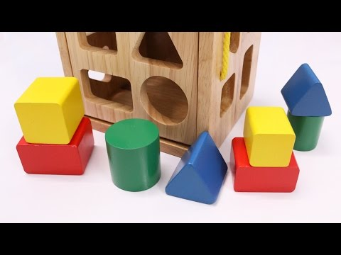 Thumbnail: Learning Colors Shapes & Sizes with Wooden Box Toys for Children