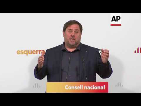 Republican Party leader calls for unity among Catalan separatists