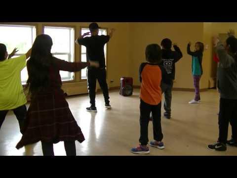 Hip Hop Dance Workshop -2016 ASWCO Multi-Sport Camp Moose Cree First Nation