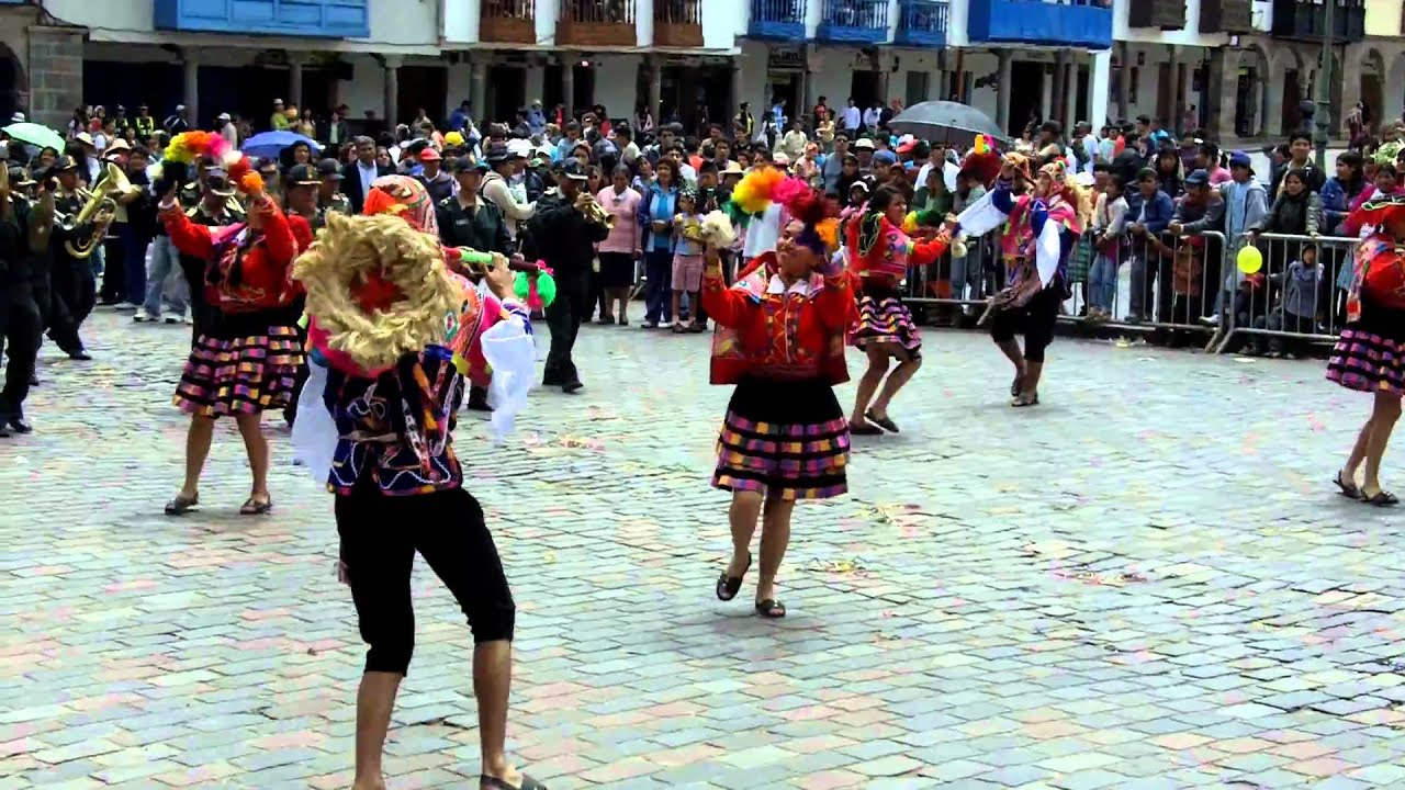 Cusco - Carnival Dancers