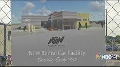 Appleton Airport new rental car facility