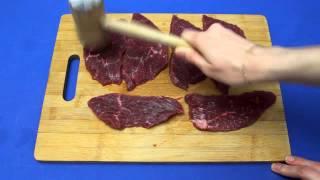 Рецепт приготовления мяса по-французски с грибами в мультиварке VITEK VT-4209 BW