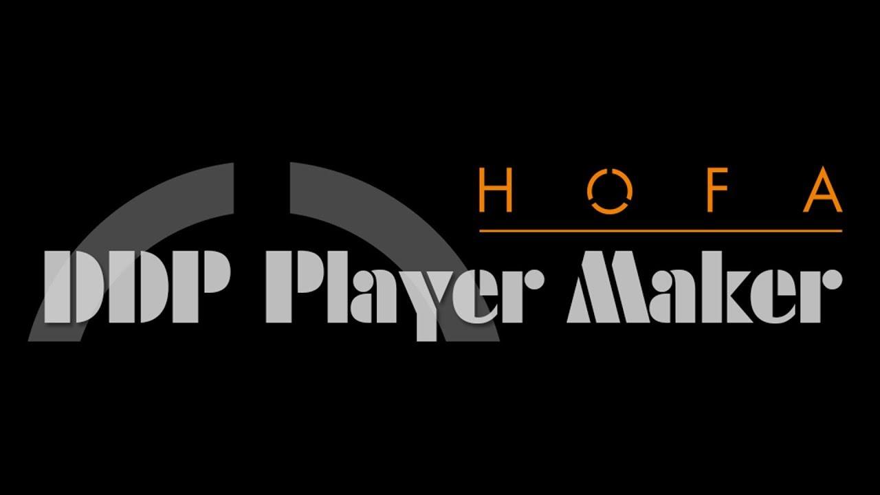 DDP Player Maker | HOFA-Plugins
