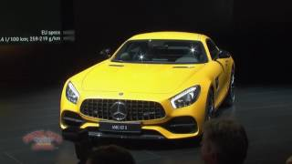 Mercedes-Benz Presentation at 2017 Detroit Auto Show