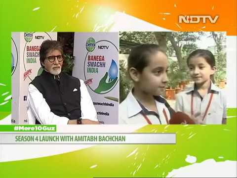 NDTV Banega Swachh India - Live with students at The Shri Ram School Aravali