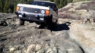 1995 Range Rover Classic SWB off road