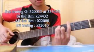 [GUITAR] Hướng dẫn guitar Đi Để Trở Về - Soobin Hoàng Sơn ( Hợp Âm, Cách Tỉa, Cách Quạt )