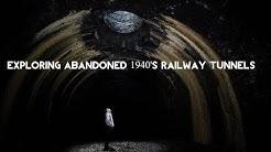Abandoned Merthyr Tydfil 1940's Railway tunnels (burn out cars found)