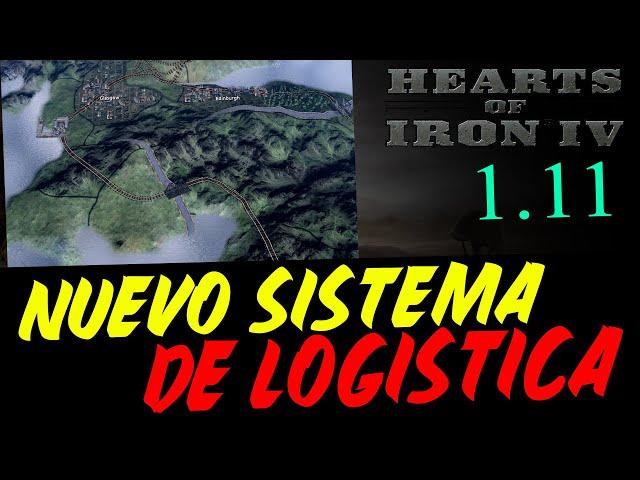 ¡DE LOCOS! - NUEVO SISTEMA DE LOGISTICA Y TEASERS DEL SIGUIENTE DLC DE HEARTS OF IRON IV