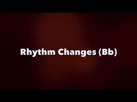 Rhythm Changes - Jazz Guitar Backing Track (Bb)