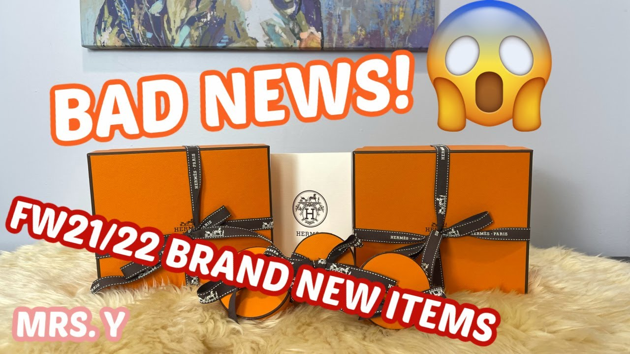 NEW Hermes ITEMS FALL/WINTER 21/22 | Hermes SA Confirmation on BREAKING NEWS!!!😱 | Hermes Unboxing 🍊