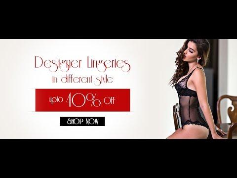 Photoshop Tutorials – Ecommerce Deal/ Sale Banner – Lingerie's