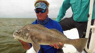 Buras Louisiana Inshore Fishing for Black Drum and Red Drum
