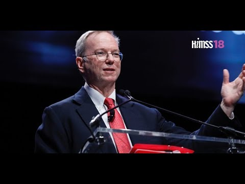 HIMSS18 Opening Keynote, Eric Schmidt - YouTube