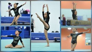 MY FIRST AND LAST GYMNASTICS COMPETITION (HEARTBREAKING)
