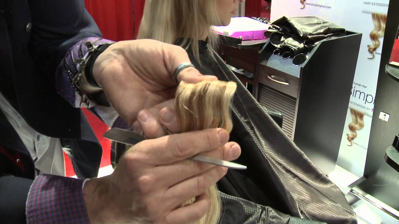 Watch How To Apply Simplicity Hair Extensions Youtube