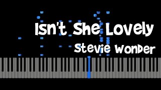 Stevie Wonder  - Isn't She Lovely  Jazz piano ( Yohan Kim)