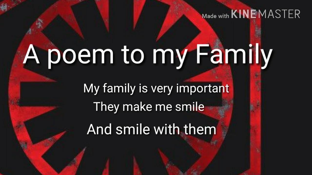To My Family Alexander Castellanos