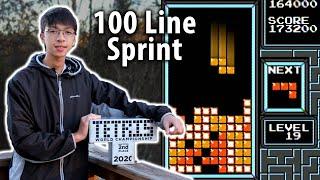 The 6 Key Strategies in this World Record NES Tetris Speedrun