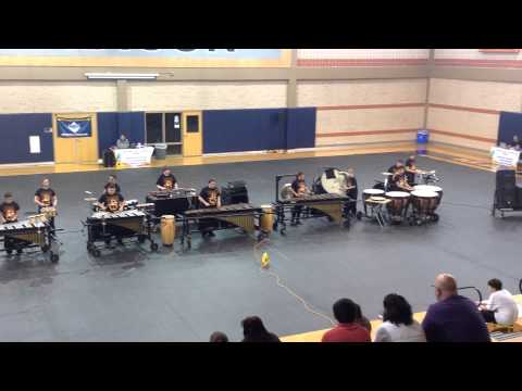 Calallen Middle School - Percussion Ensemble at Madison High School 02/21/2015