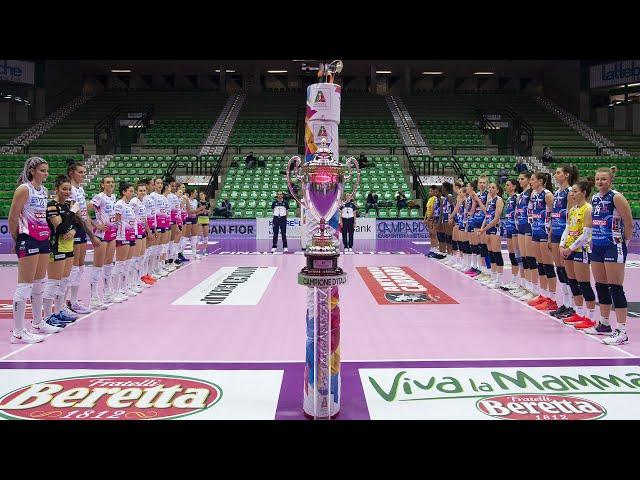 Review Gara-1 Finali Playoff Scudetto | Lega Volley Femminile 2020/21