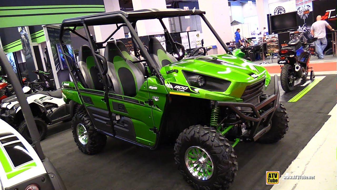 Kawasaki Teryx  Interior