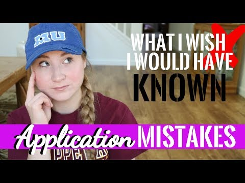 11 Grad School Application Mistakes | What I WISH I Would Have Known When Applying
