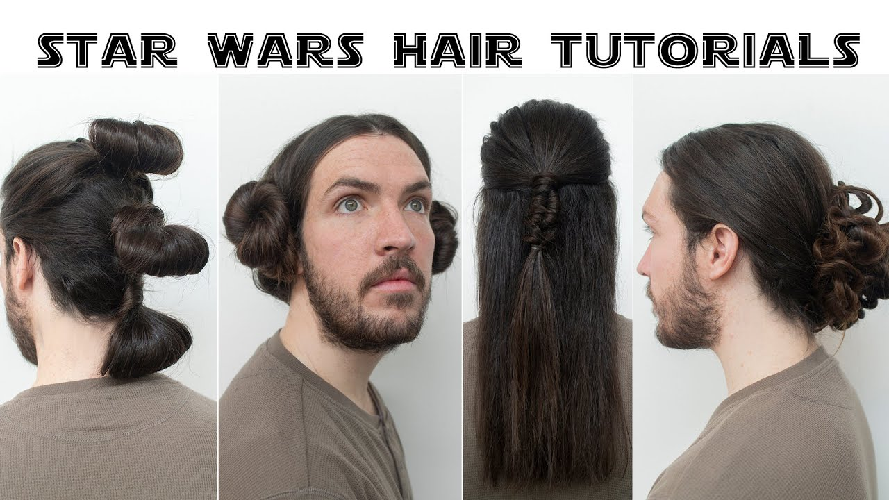 Star Wars Hair Tutorials Youtube