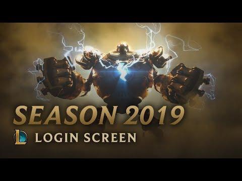 Season 2019 | Login Screen - League of Legends