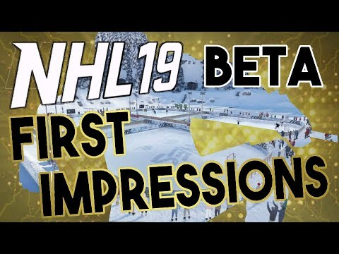NHL 19 Beta: First Impressions and Review! What do you think?