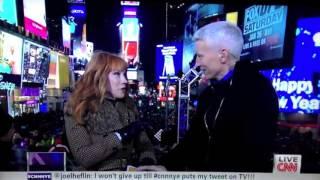 Anderson Cooper almost Got Head Live LOL