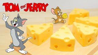 RICO の #アニメ料理実写化 主にアニメの料理、食べものなどを 出来るだけ三次元に実現する 番組です 今日作るのは #トムとジェリー の チーズ...