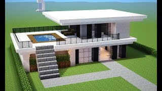 Minecraft casas videos minecraft casas clips for Casa moderna omarzcraft