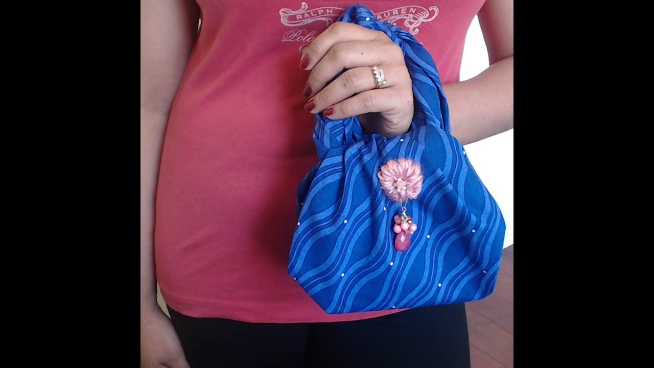 How To Make No Sew Mini Bag In 2 Minutes Request Video