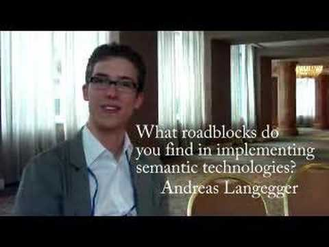 Semantic Report Interview with Andreas Langegger