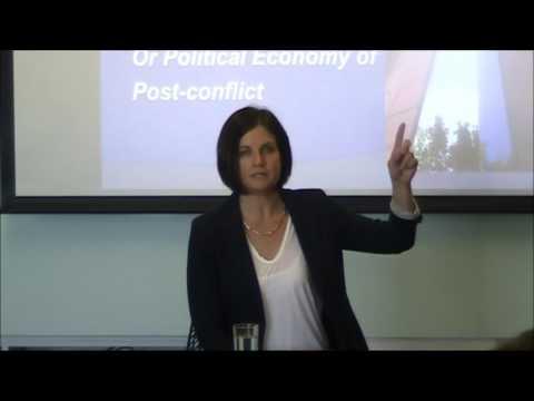 Women's Post-Conflict Participation, Jacqui True, Asia Research Centre, 16 March 2017