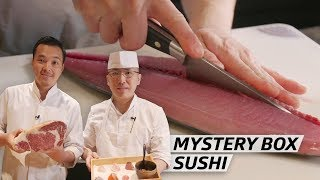 How Two Master Sushi Chefs Created a Brand New Omakase Using American Fish  — Omakase