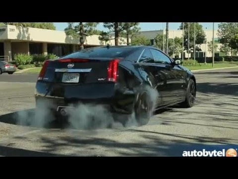 2014 Cadillac Cts V Coupe Test Drive High Performance Luxury Car