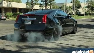 2014 Cadillac CTS-V Coupe Test Drive & High-Performance Luxury Car Video Review
