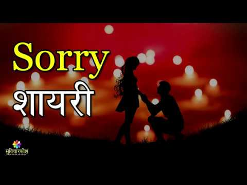 सॉरी शायरी | Sorry Shayari In Hindi For Girlfriend / Boyfriend