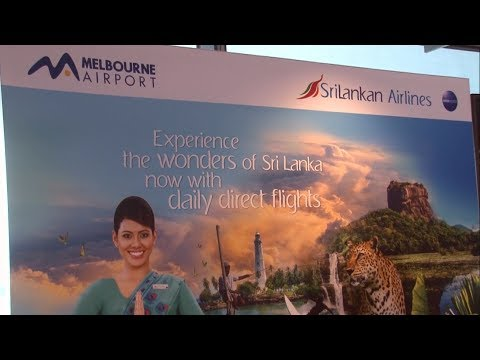 Srilanka Airlines Inaugural Melbourne to Colombo Service Media Launch
